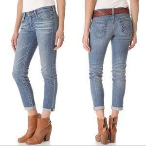 AG stilt roll up cigarette jeans size 27R